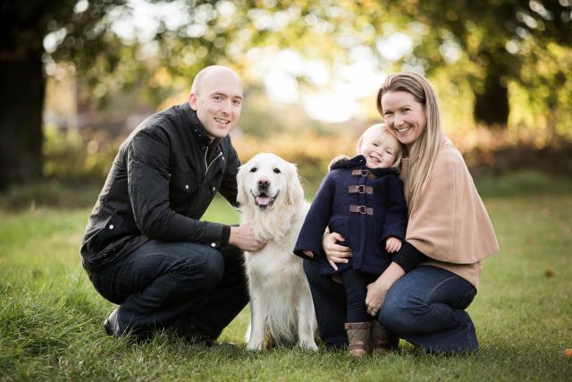 Catherine and Andrew were refused IVF treatment on the NHS because they already had a child of their own