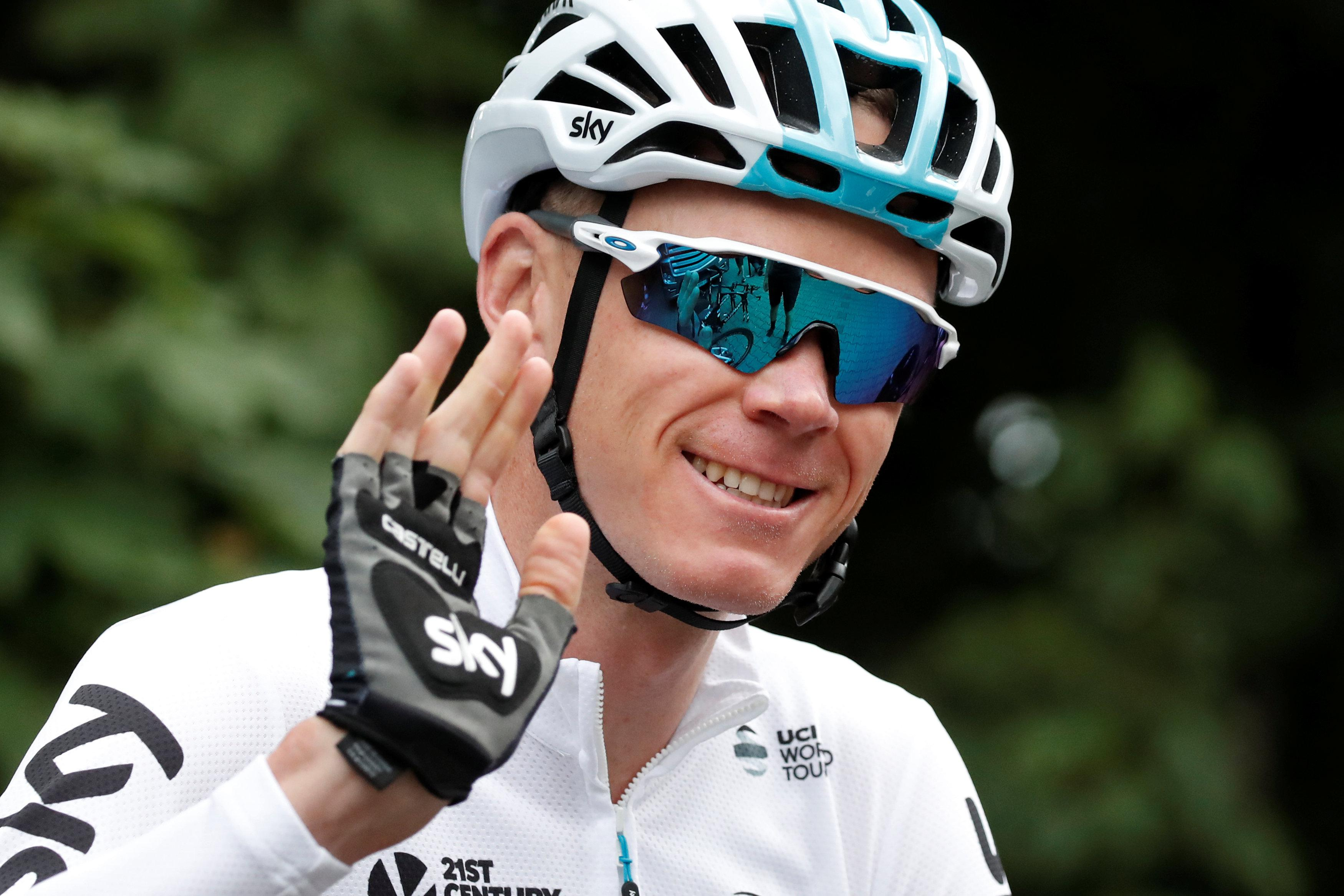 Chris Froome has begged fans not to give him a hard time on the roadside but his requests often fall on deaf ears