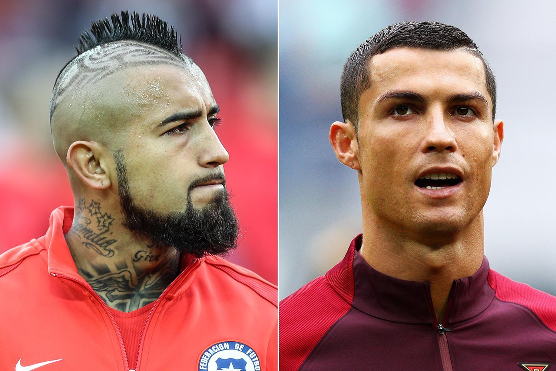 Cristiano Ronaldo and Arturo Vidal set for battle as Real Madrid