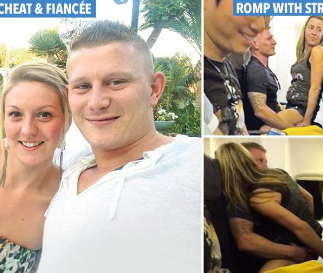 Man Filmed Romping With Woman In Front Of Passengers On Ryanair Flight To Ibiza Was Cheating On His Pregnant Fiancee Who Was Waiting At Home