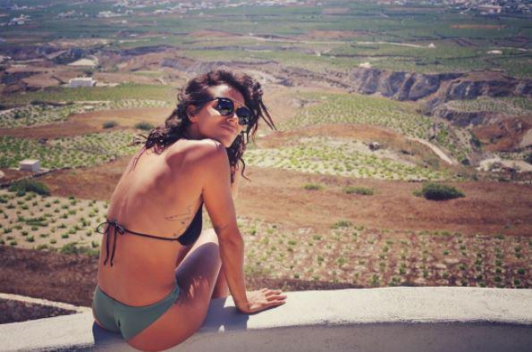 Benoit Paire's girlfriend Tamara Marthe, better known as Shy'm