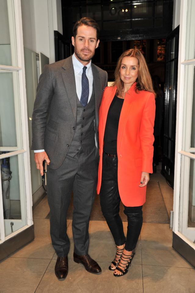 Jamie and Louise Redknapp officially divorced in January 2018