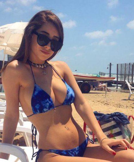 The confident Israeli loves showing off her enviable figure on social media
