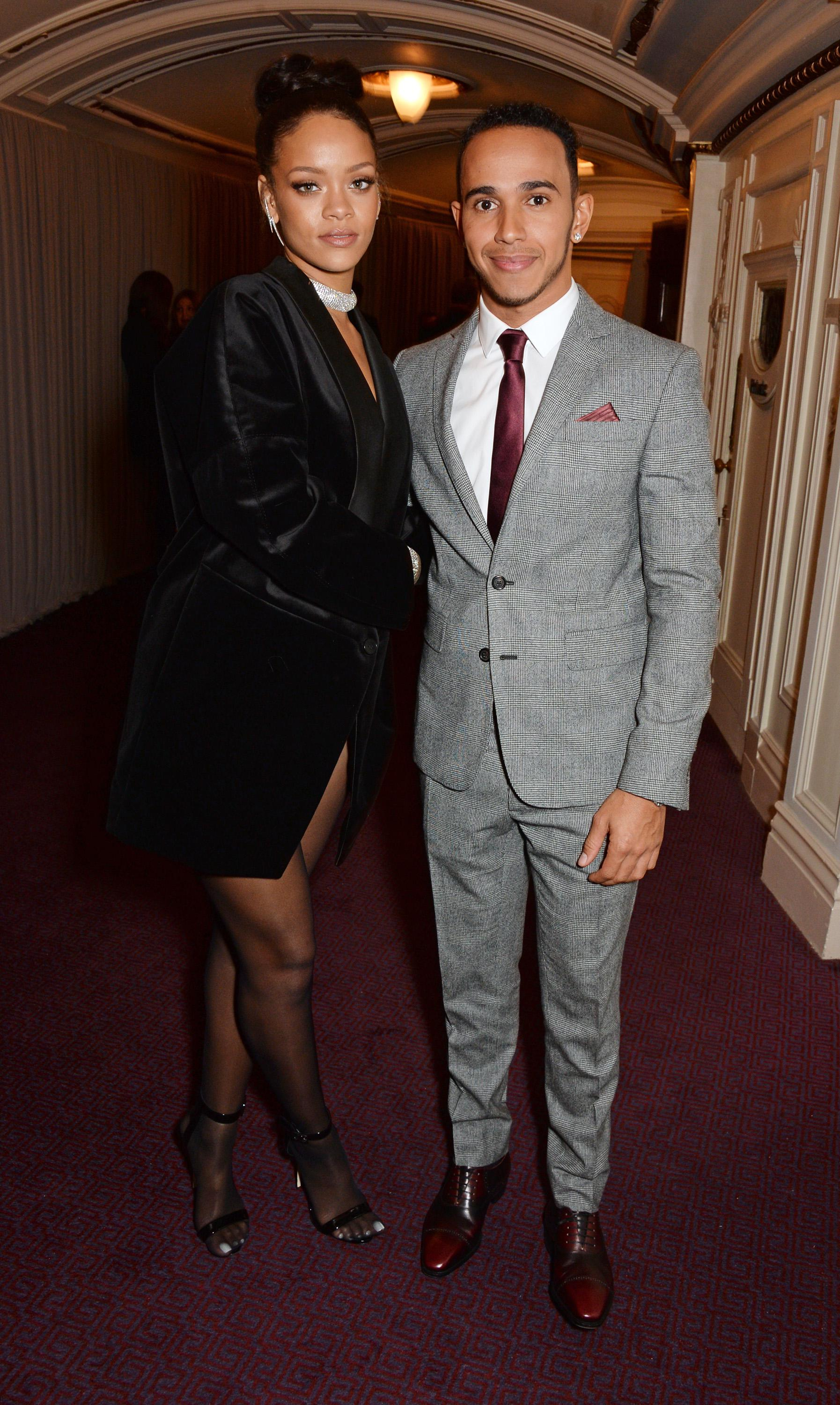 Rihanna was friends with Lewis for several years - and is rumoured to have taken things to the next level in summer 2015