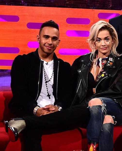 Rita Ora went on a romantic holiday with Lewis in July 2016