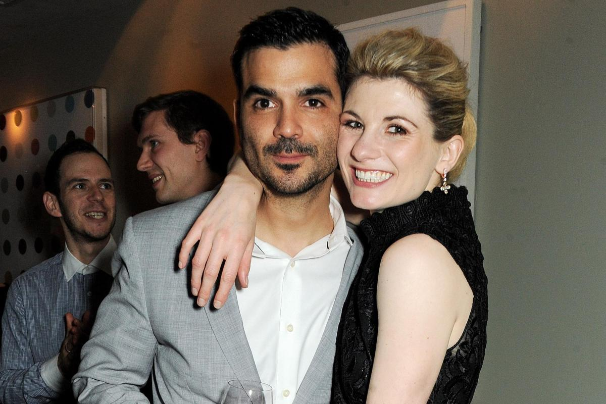 Jodie Whittaker with Marito Christian Contreras