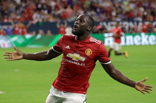 Image result for romelu lukaku manchester united goals