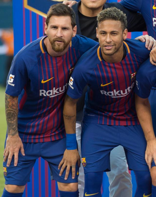 Neymar is keen to be the main man at a club after learning from playing with Messi