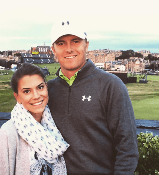 Golf buddies: Annie and Jordan