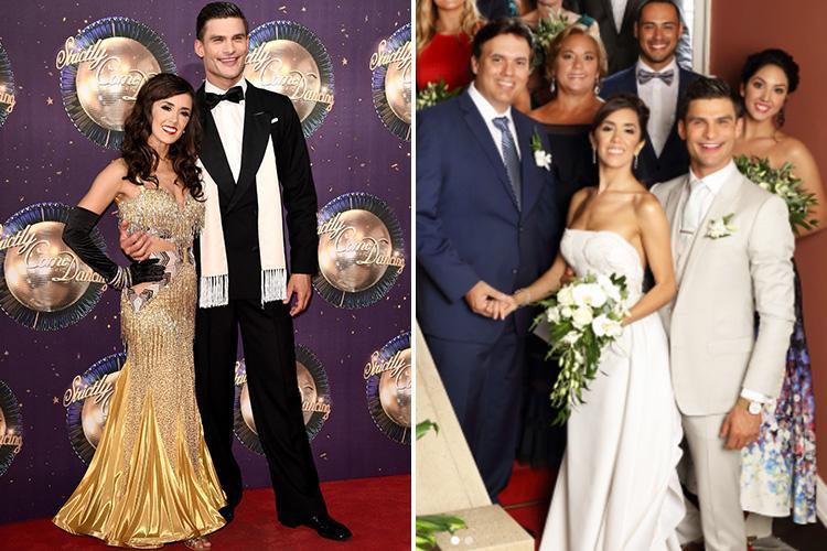 Strictly Come Dancing S Janette Manrara And Aljaz Skorjanec Reveal