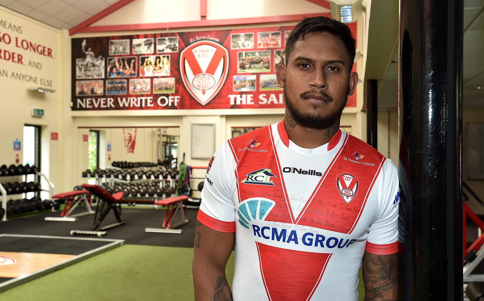 Ben Barba is in the squad to face Catalans tonight after being stretchered off at Salford