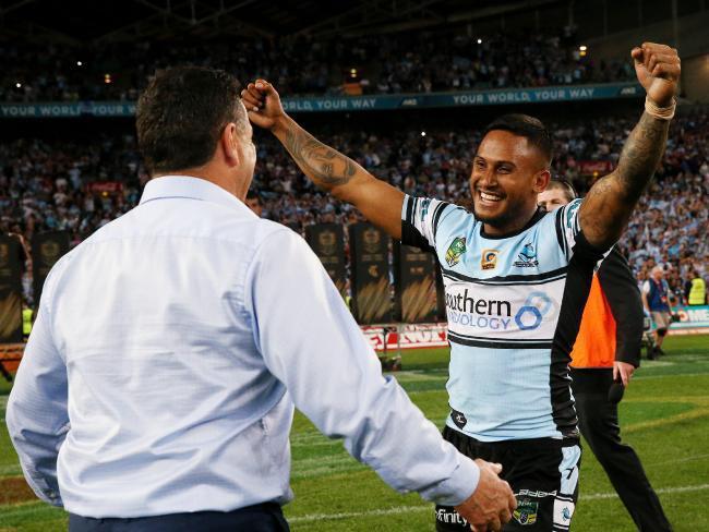 Barba won the 2016 NRL Grand Final with Cronulla Sharks
