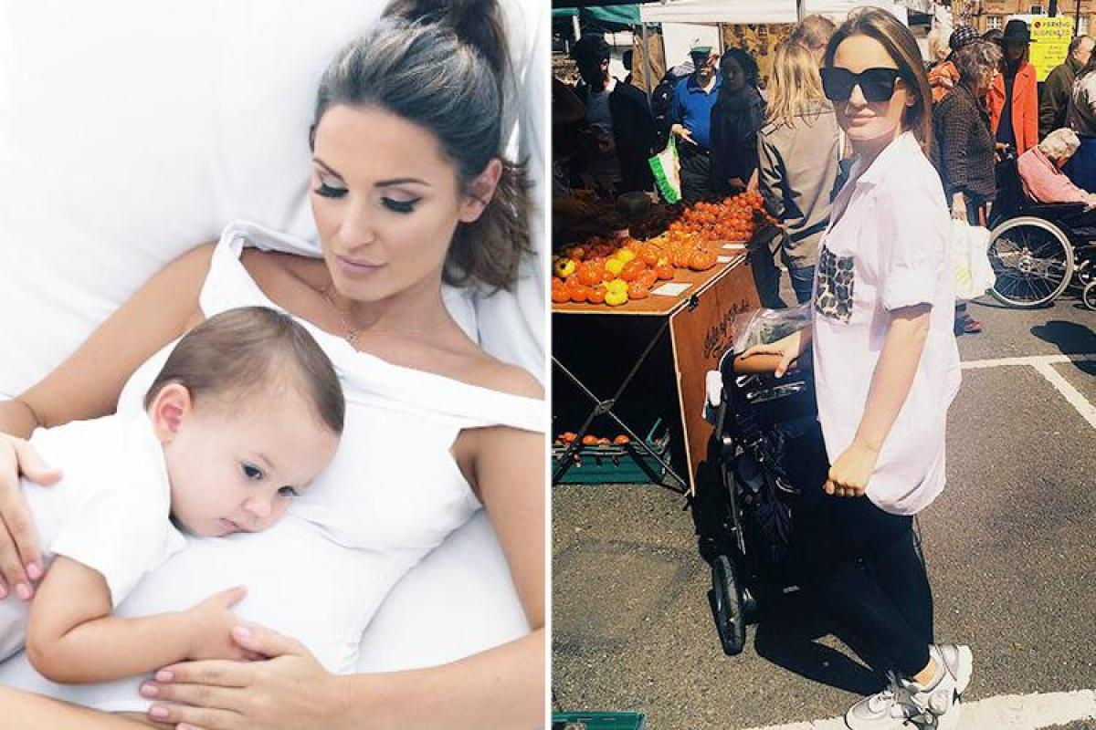 Sam Faiers to launch pushchair and baby range in US after signing series three of The Mummy Diaries