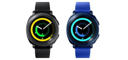The new Gear Sport boasts 'sophisticated fitness tracking, built-in GPS and a standalone music player'