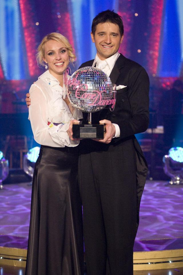 Tom Chambers landed the win with partner Camilla Dallerup