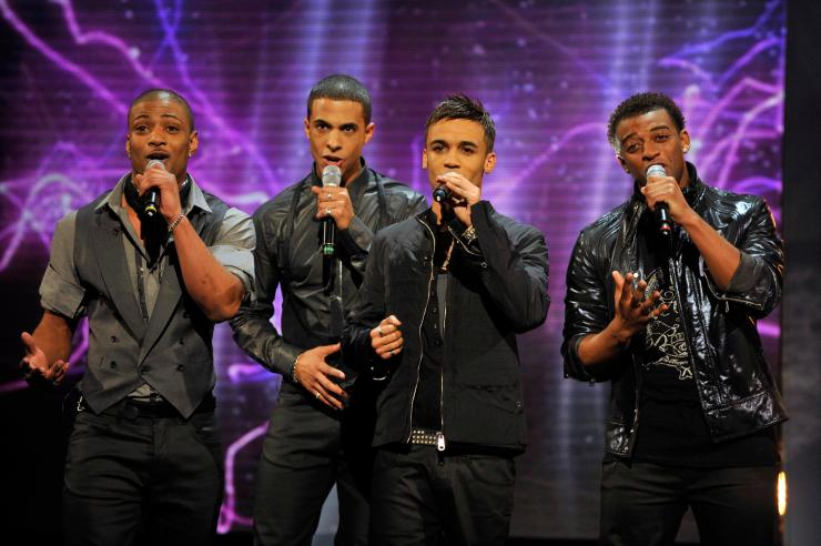 Marvin looked different during his JLS days