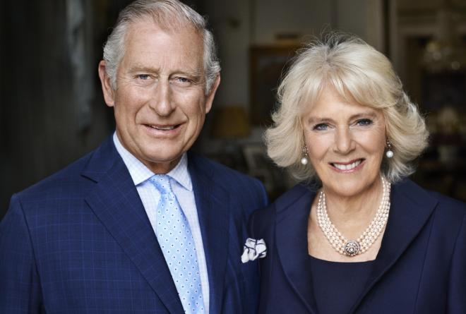 Camilla Parker Bowles with husband Prince Charles, with the couple marrying in 2005