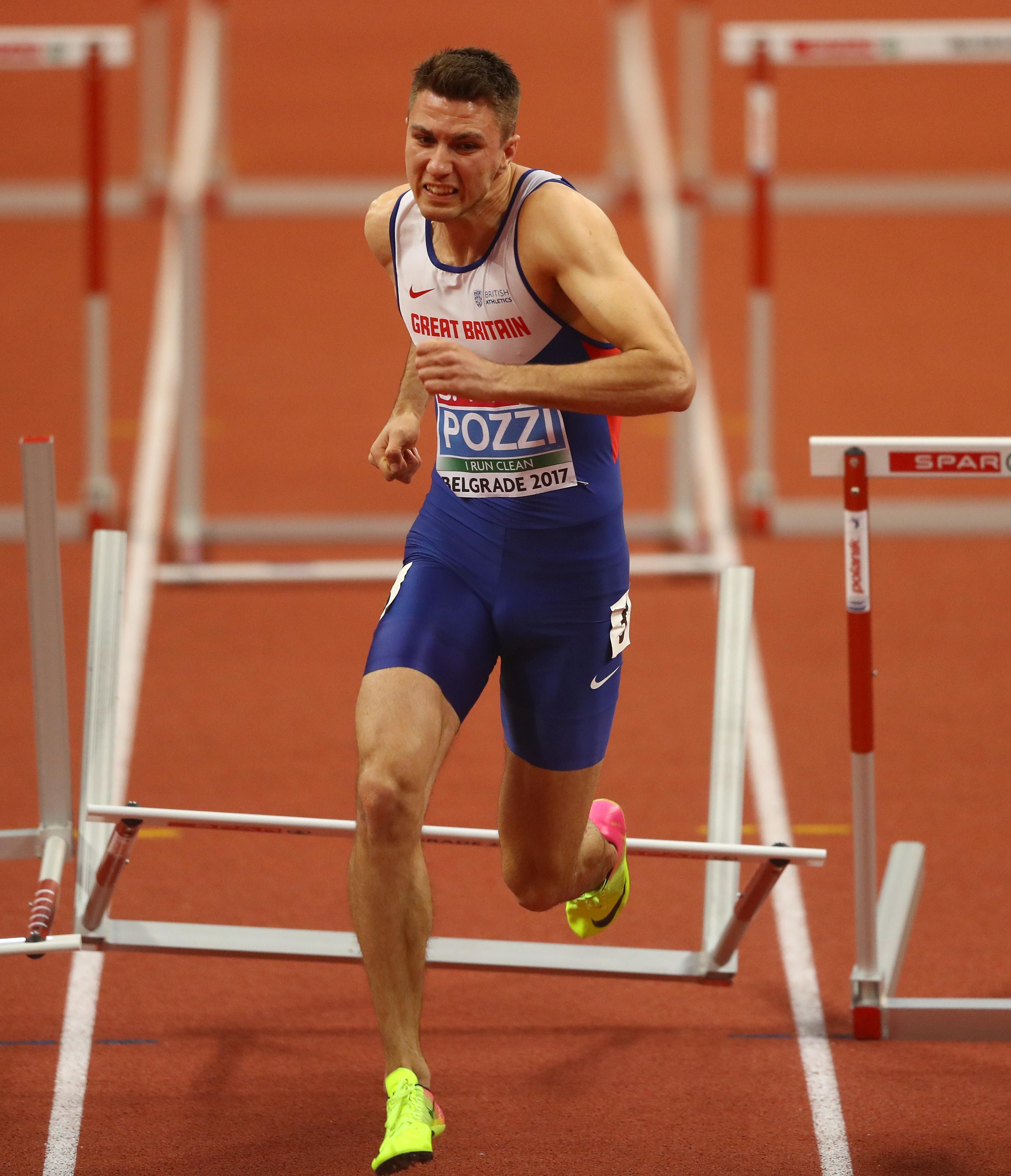 European indoor gold was a major boost to the hurdler