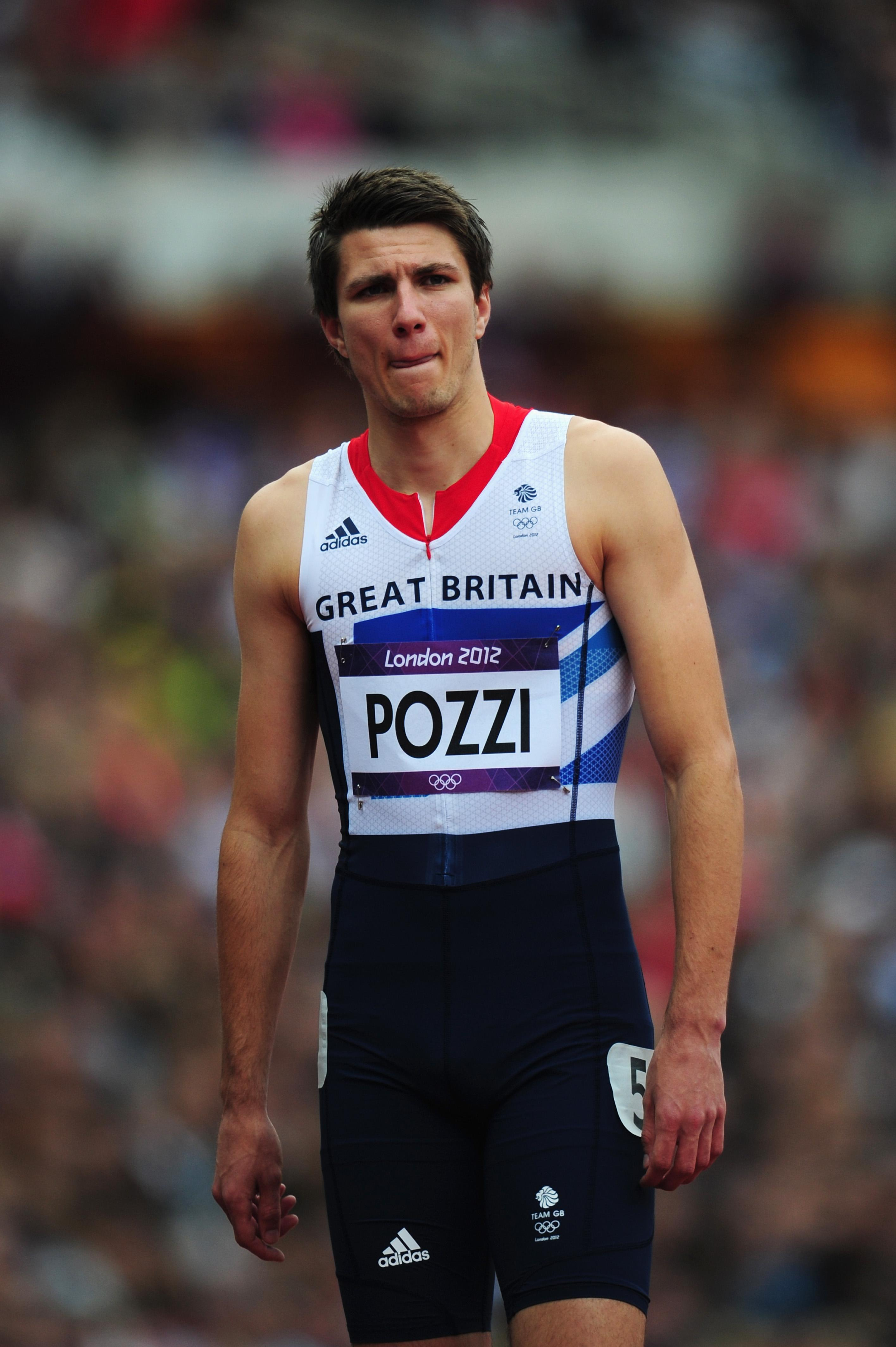 Memories of London 2012 are nothing but painful for Pozzi after injury struck him at the start