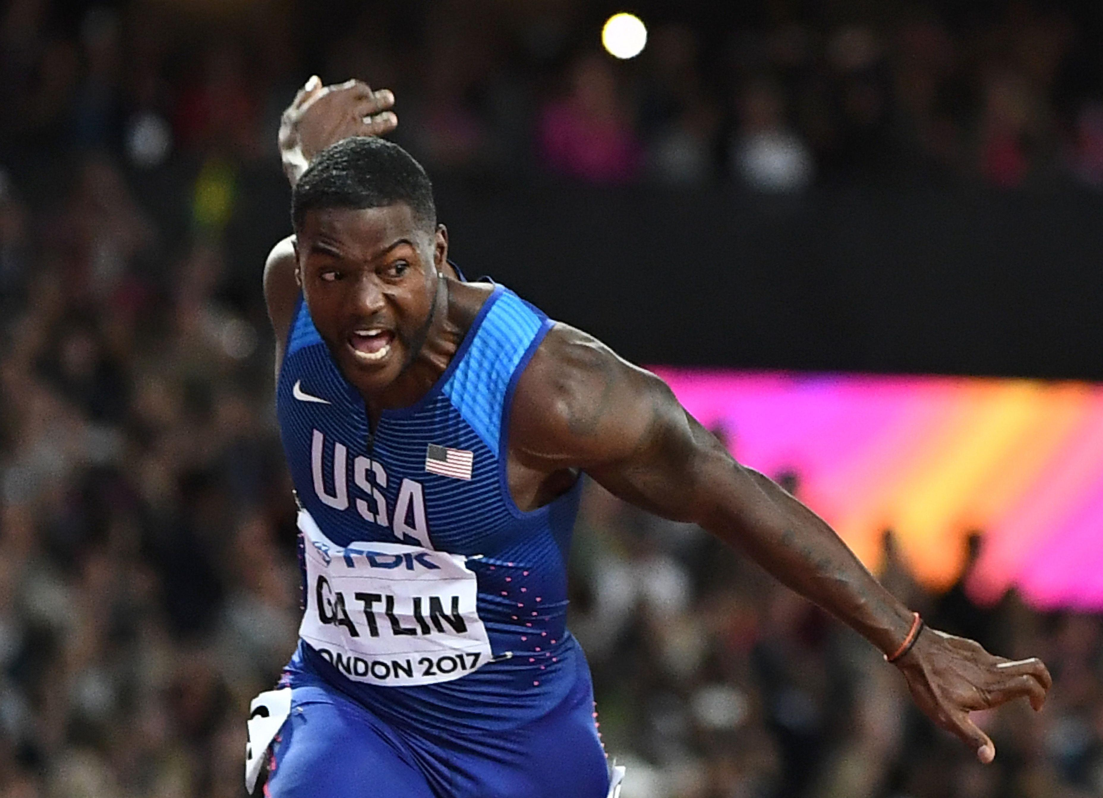 Justin Gatlin was the most unpopular 100m winner possible for the London Stadium crowd