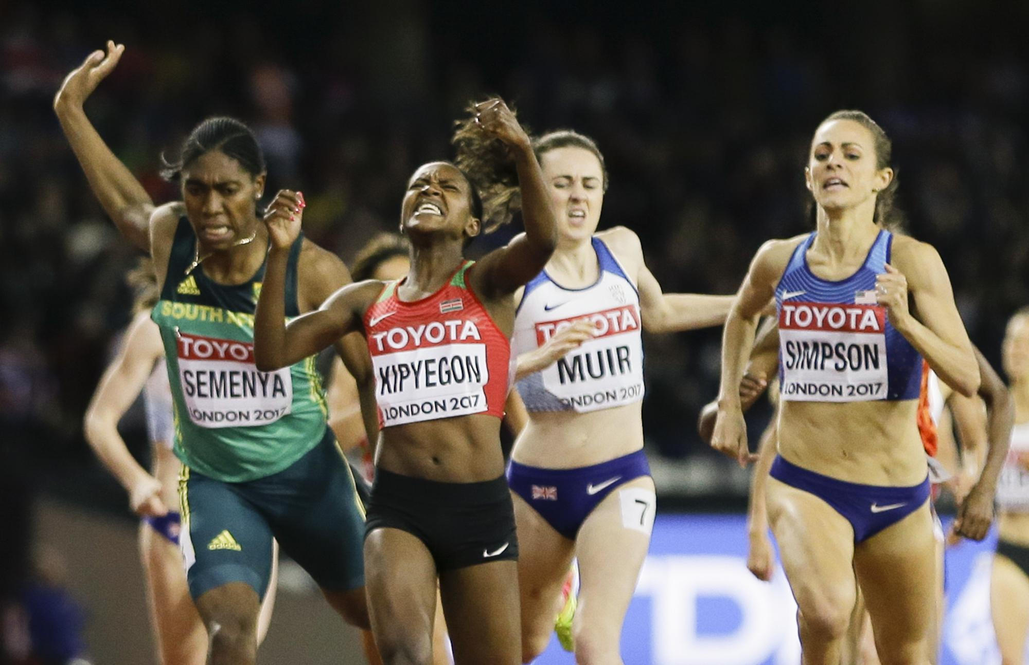 Laura Muir is just run out of a world 1500m medal in the last few strides
