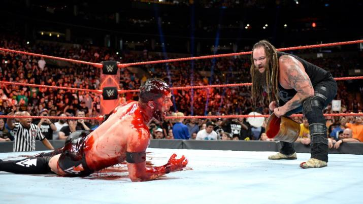 Image result for balor blood raw bray wyatt