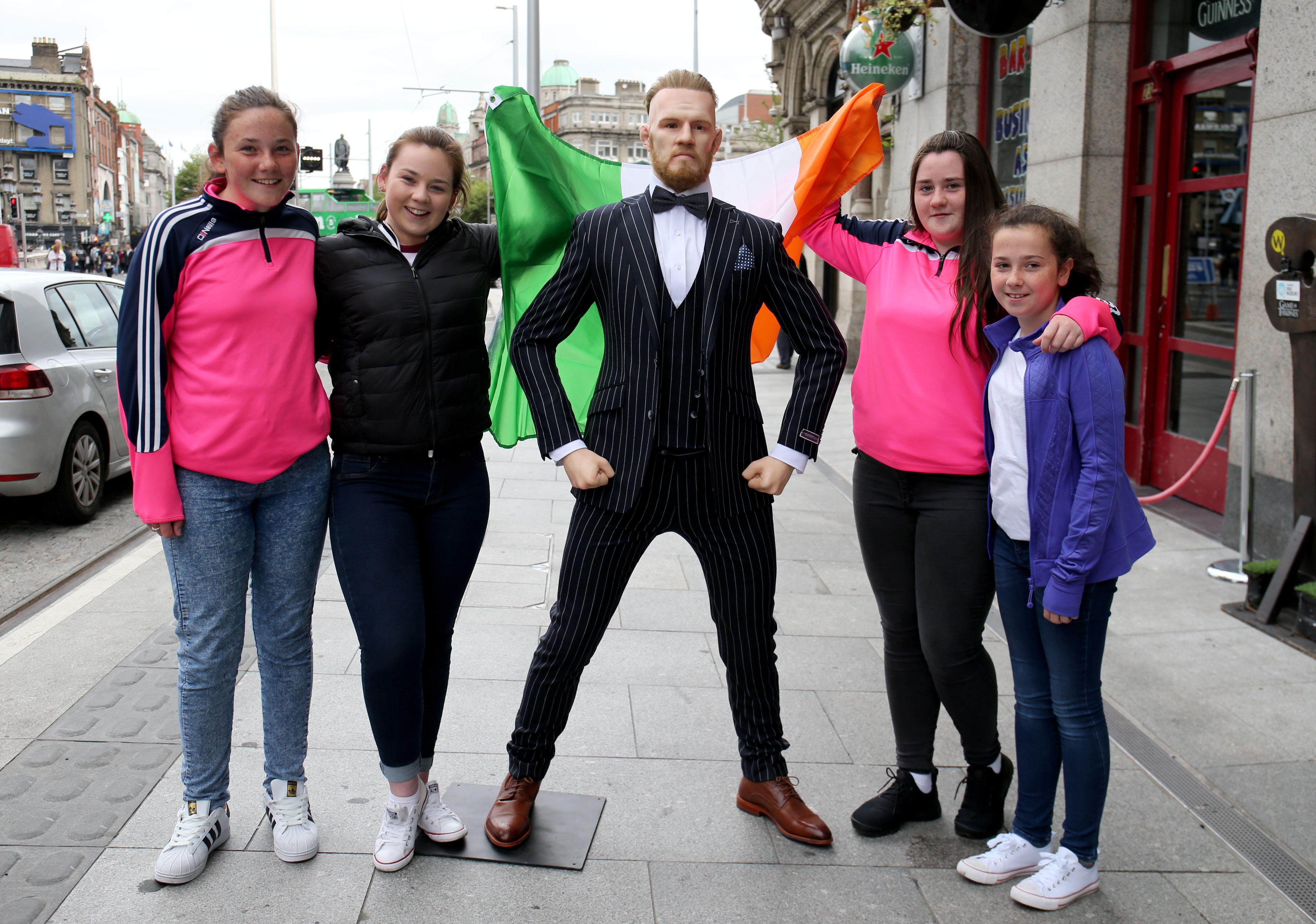 Ireland's National Wax Museum has been forced to defend itself after unveiling McGregor waxwork earlier this week