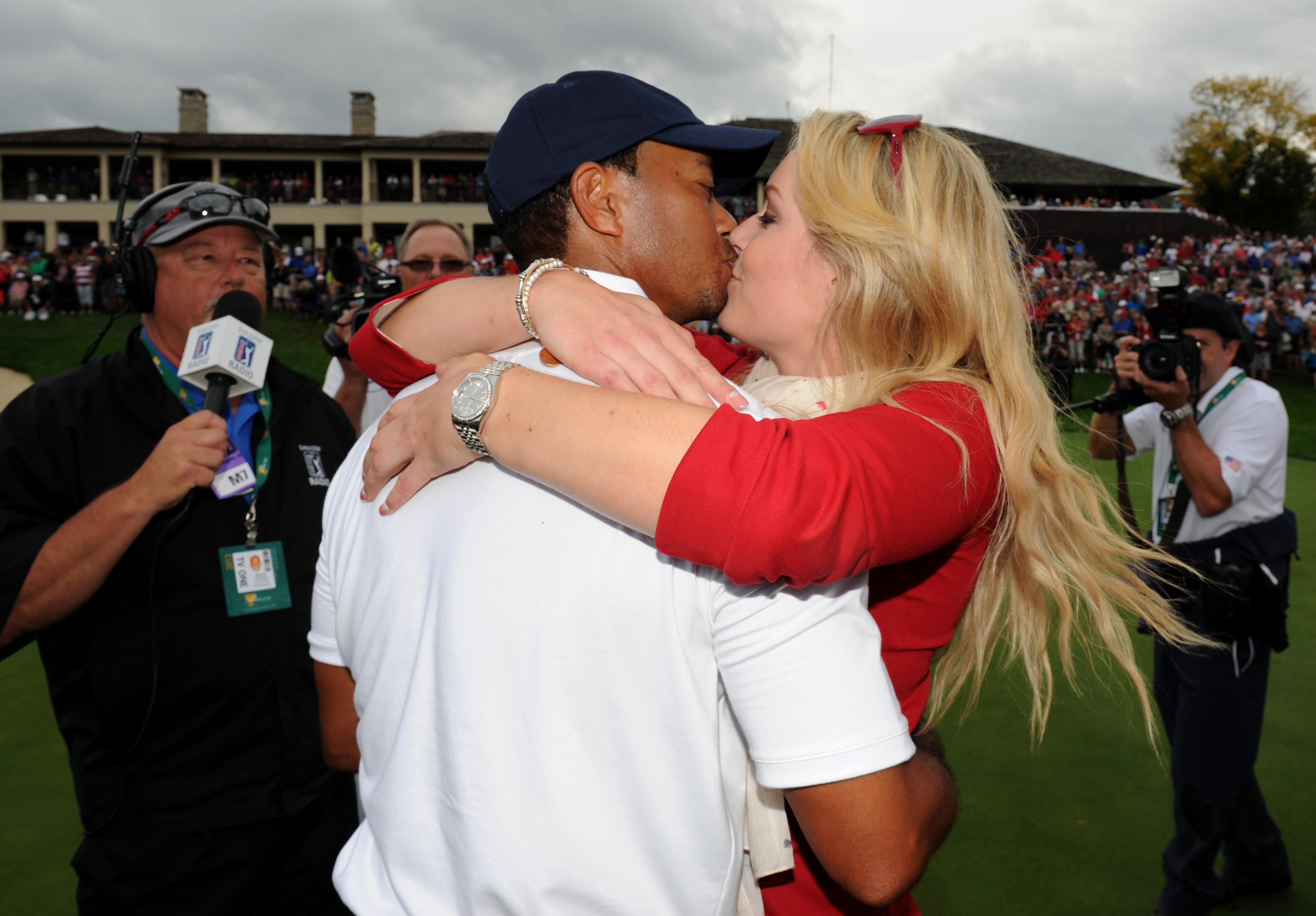 Lindsey Vonn and her ex Tiger Woods have been caught up in a nude photo leak