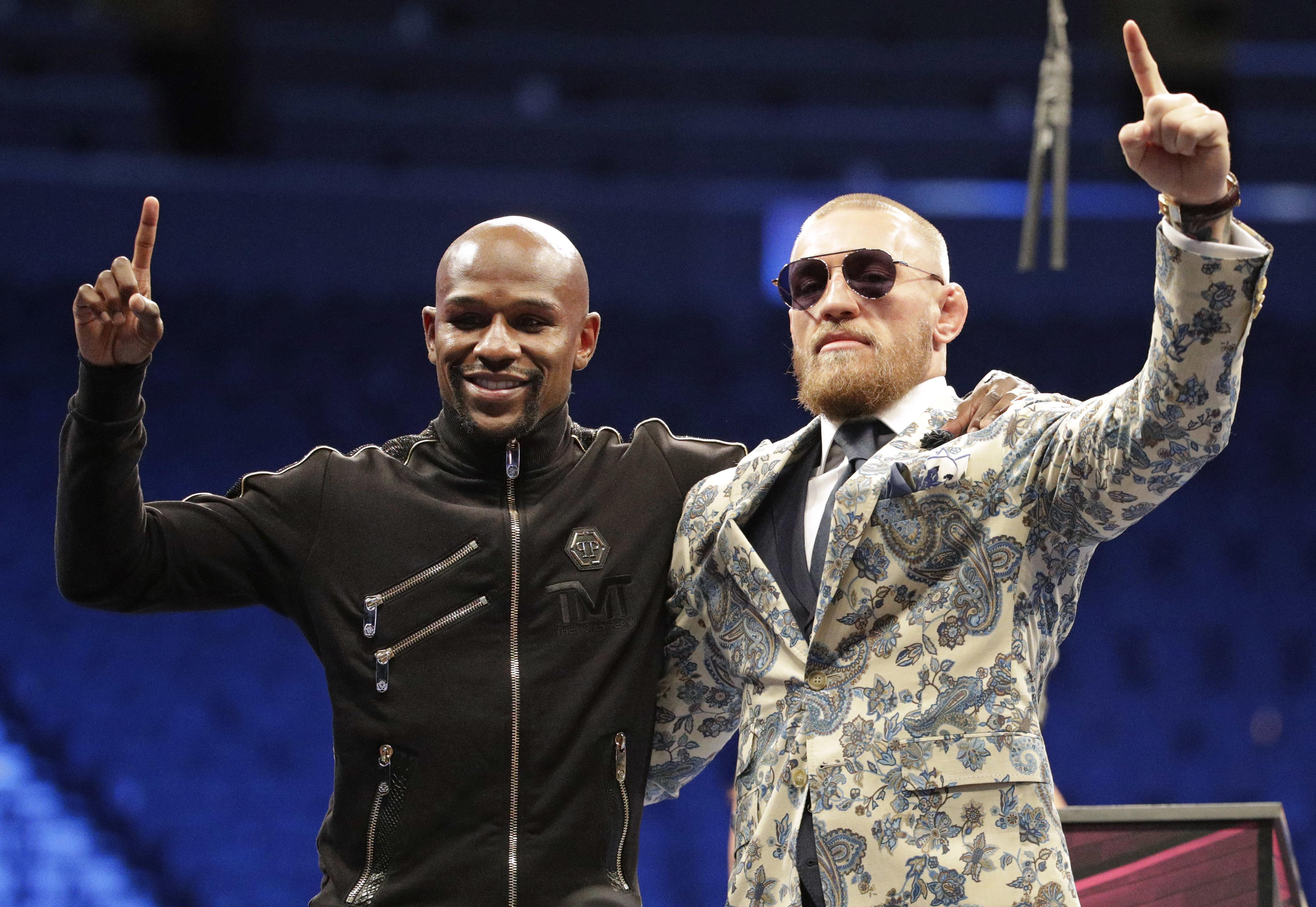 Floyd Mayweather beat Conor McGregor in the money-spinning bout