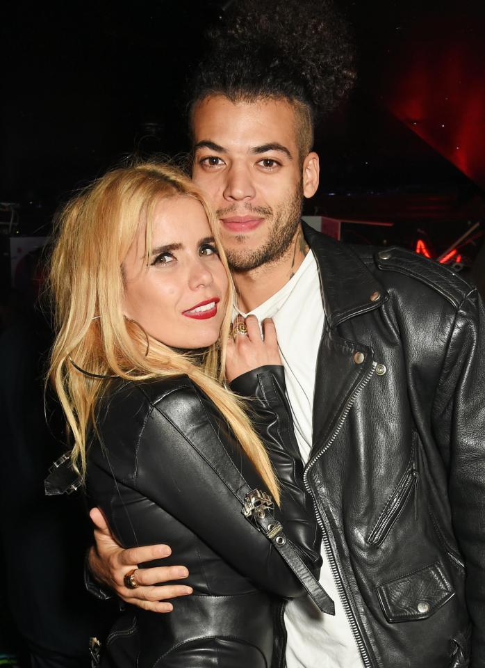 Paloma and her boyfriend Leyman Lahcine