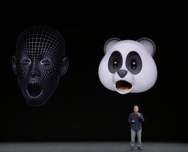The new Animojis replicate your own expressions and read out the words you've written while moving their lips