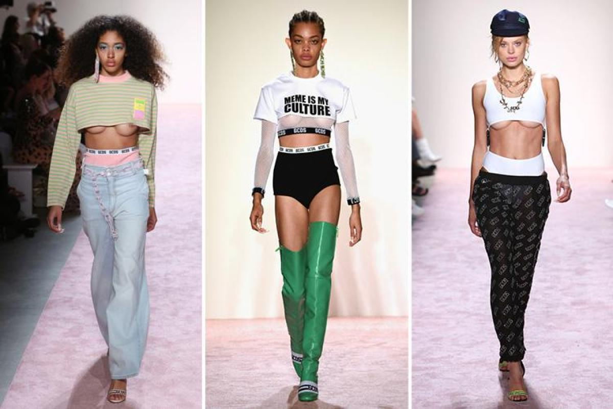 4ec75e9f74f68 Underboob fashion is sweeping New York Fashion Week... but would you be  bold enough to try the trend?