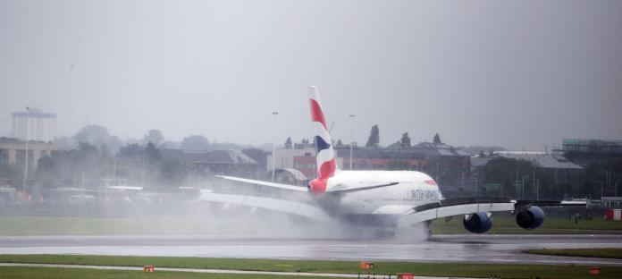The British Airways flight returned safely to Heathrow after declaring an emergency