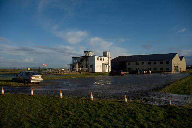 Caernarfon Airport is primarily used for training flights by Wales Air Ambulance and HM Coastguard helicopters
