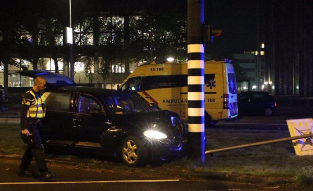 Dutch police have confirmed two men were taken to hospital but not mentioned Sergio Aguero by name