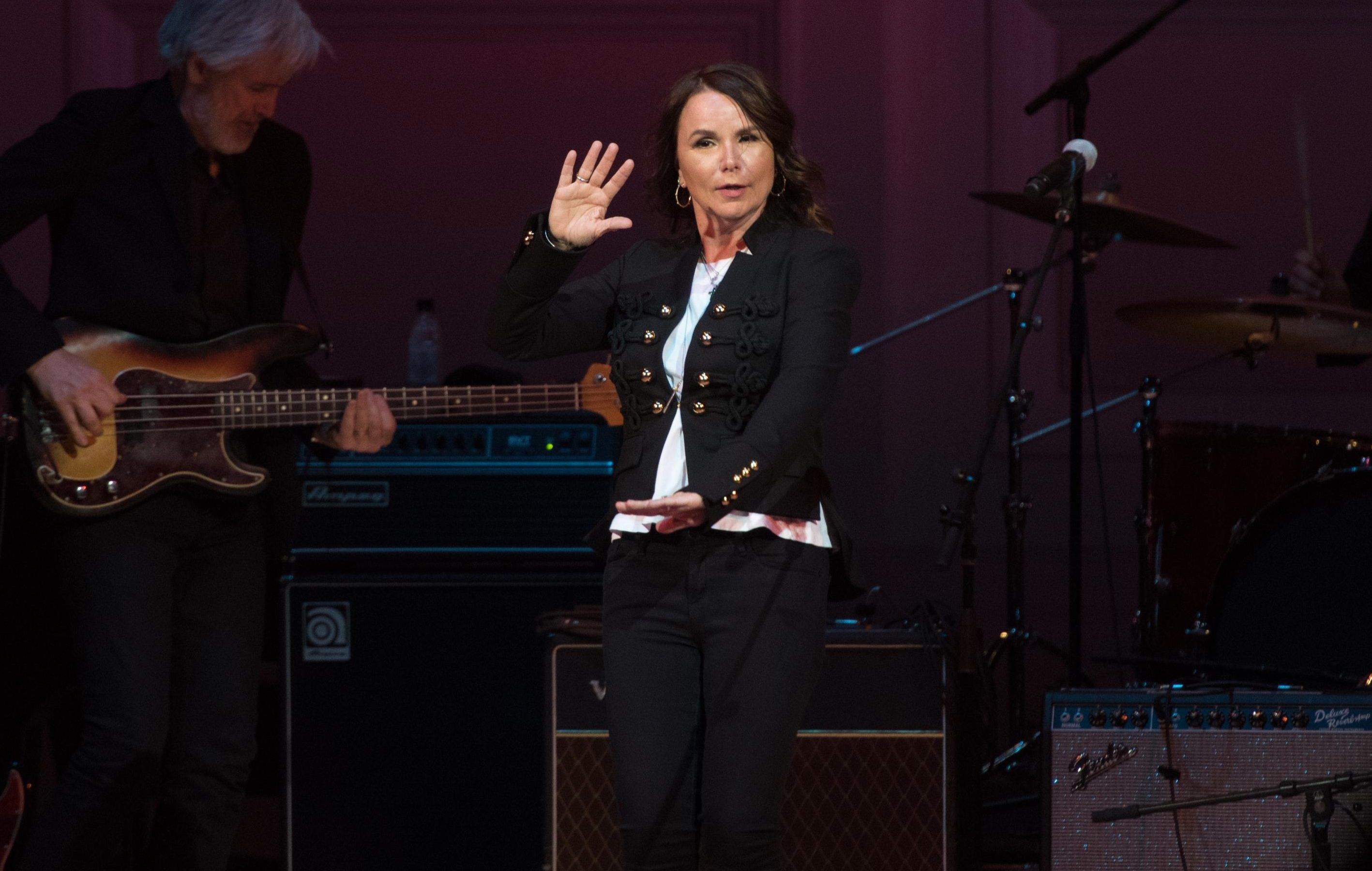 Patty Smyth, John McEnroe's second wife