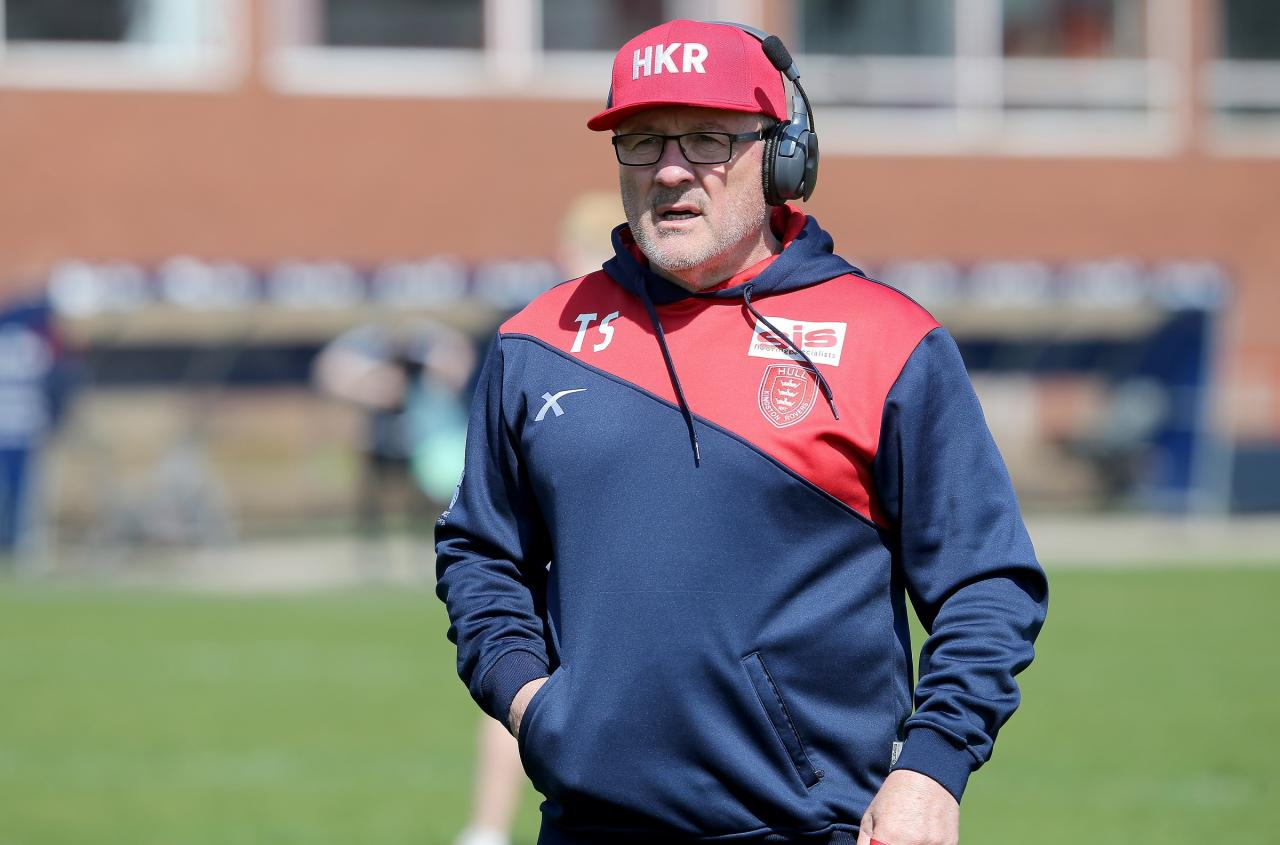 Hull KR coach Tim Sheens hopes to guide his men to victory over Leeds