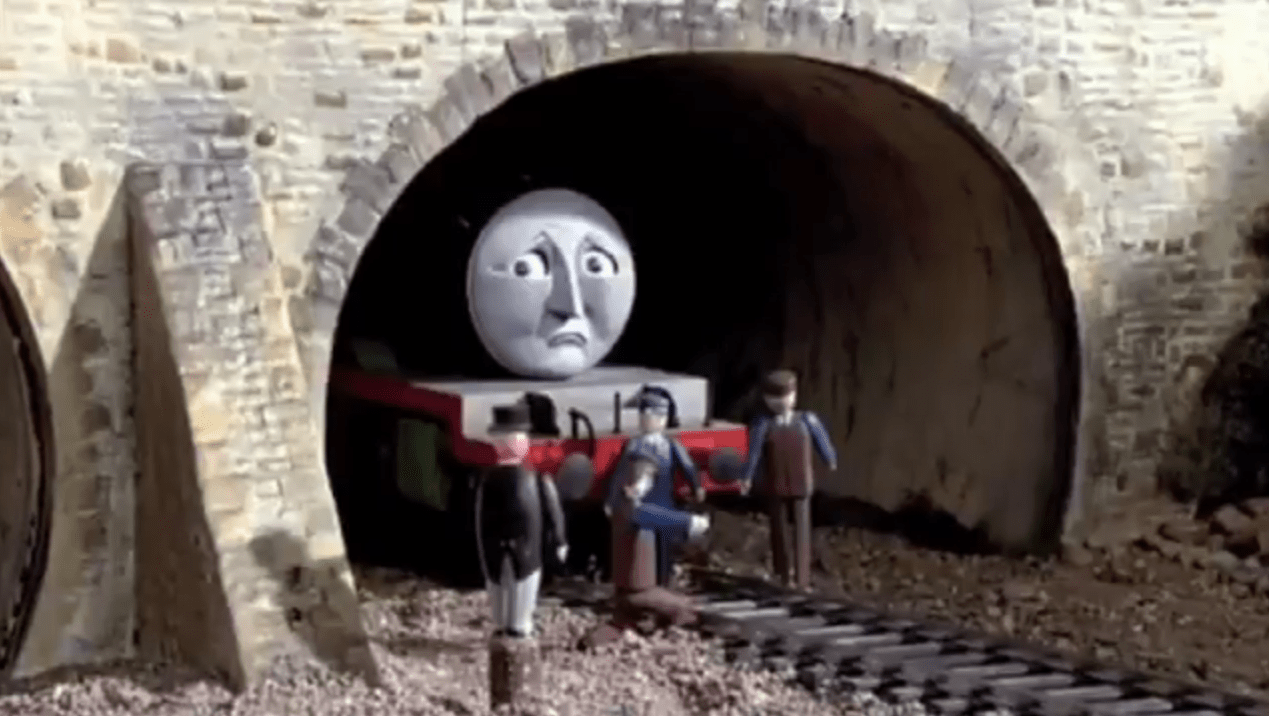 Fans Notice How Horrifying Thomas The Tank Engine Is And Really