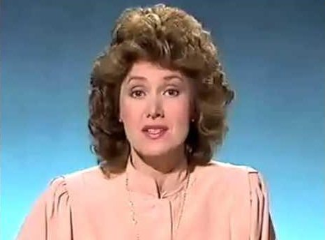 The telly personality was a staple on the news in the 70s and 80s