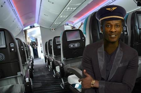 Asamoah Gyan has opened his own airline with plans for cargo and passenger carry planes