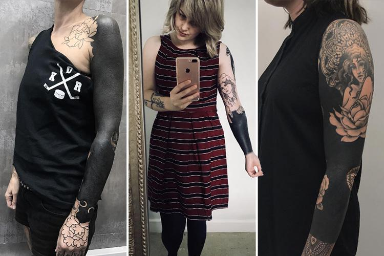 Blackout Tattoos Are The Latest Very Painful Trend Body Art Fans Are