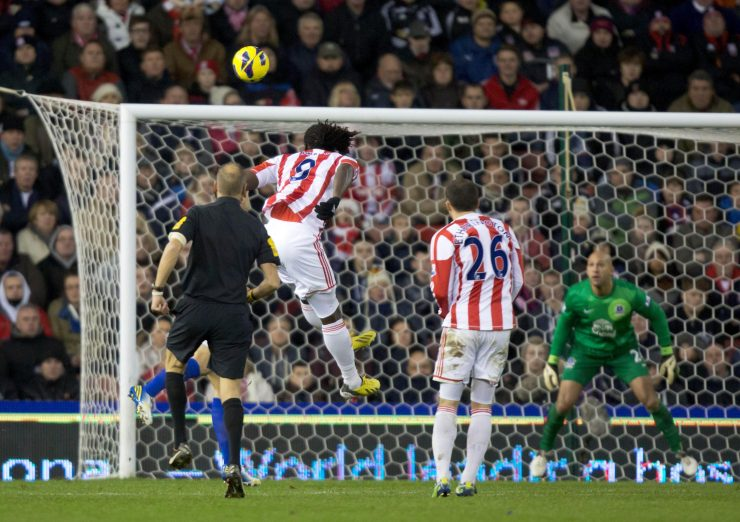 Everton conceded their 1,000th goal against Stoke in December 2012
