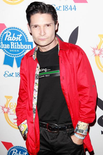 Corey Feldman was arrested for marijuana possession yesterday