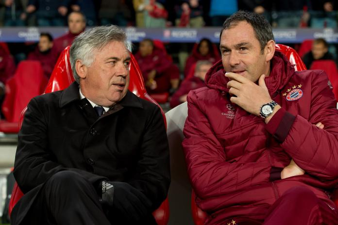Everton want Carlo Ancelotti - but the Italian wants trusted former assistant Paul Clement to join him