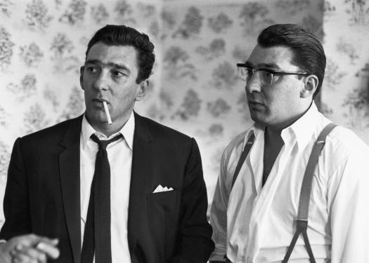 Gangsters Ronnie and Reggie Kray grew up on Vallance Road