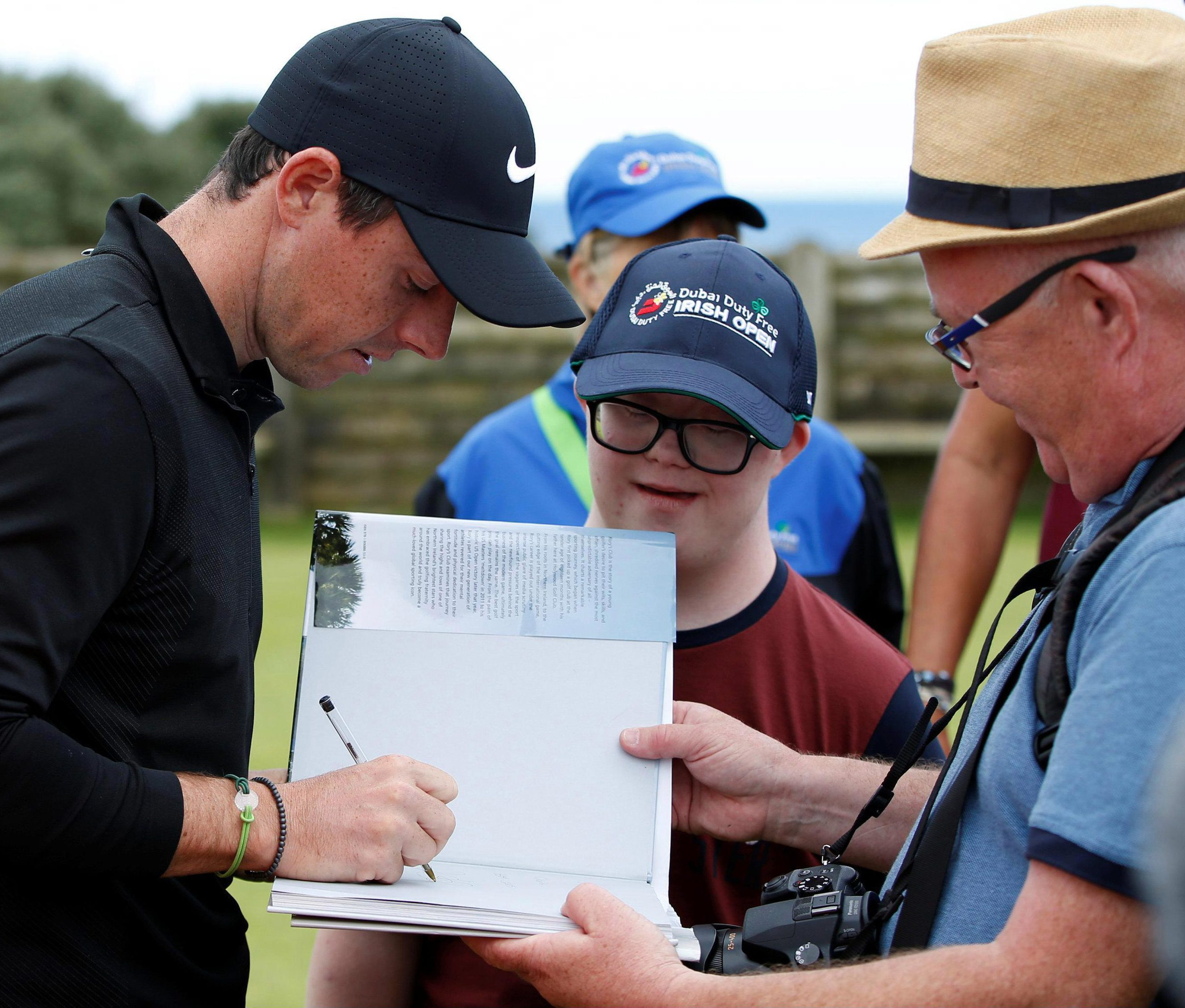 McIlroy says his early interlude with Keane means he is always ready to sign an autograph