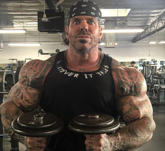 The controversial figure has previously admitted in several videos to years of steroid abuse but there is no proof that this led to his death