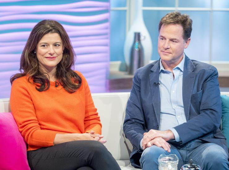 The MP's opponent Nick Clegg knew about the online trolling, according to his wife Miriam Gonzalez Durantez