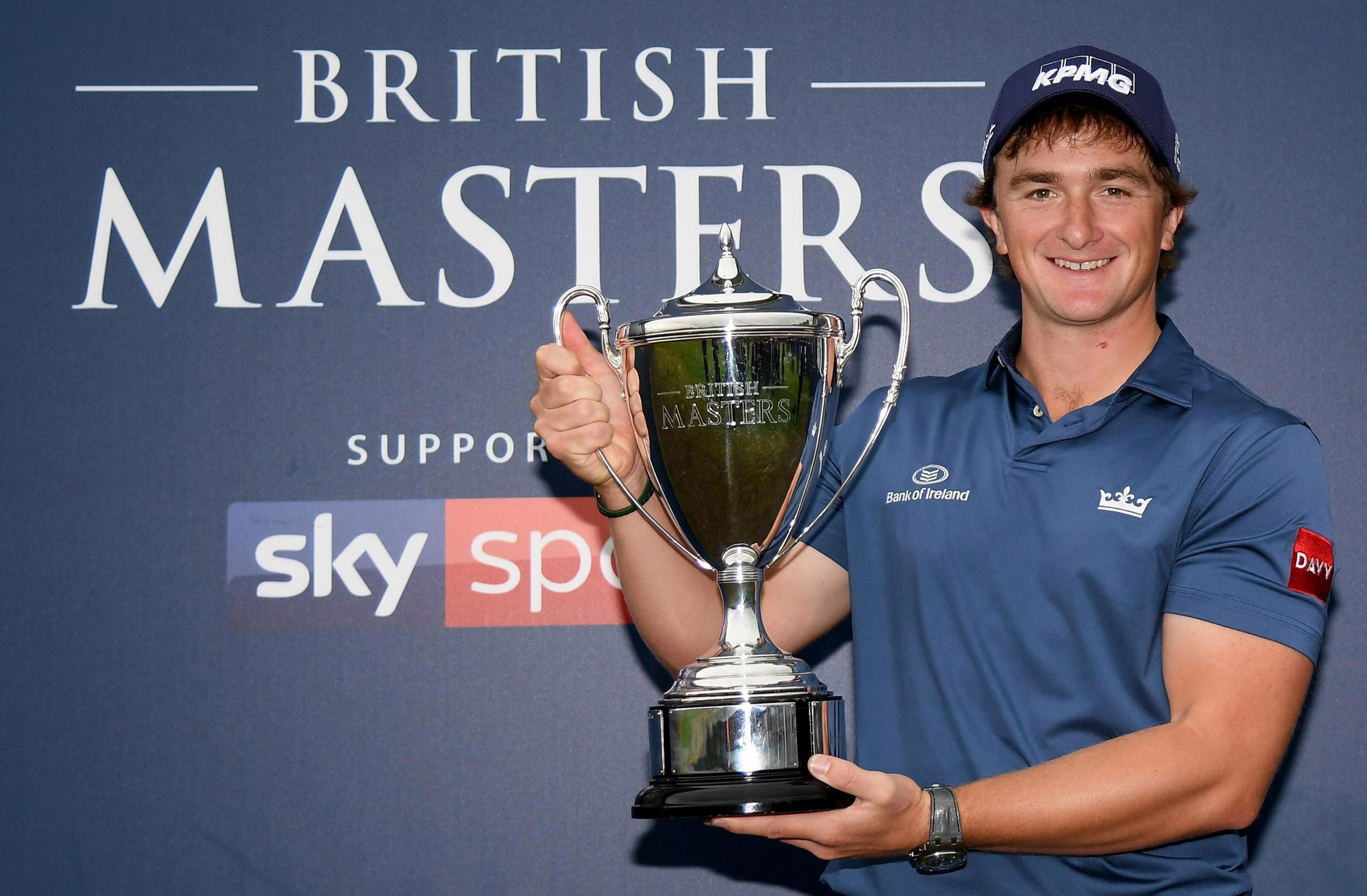 Paul Dunne won the British Masters in Newcastle