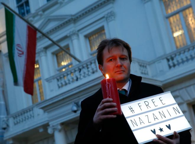 Richard Ratcliffe has been campaigning for his wife's release